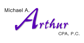 Professional logo design for Michael A. Arthur, CPA