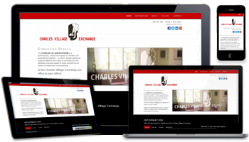 Our responsive, custom website designs look great on any device